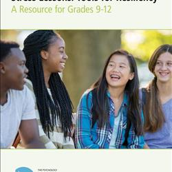 KHST! Stress Lessons: Tools for Resiliency Grades 9-12 - English