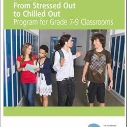 KHST! Stress Lessons: From Stressed out to Chilled Out - Grades 7-9 - English